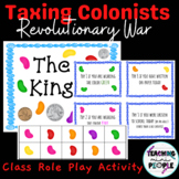 Taxing Colonists (Revolutionary War Activity) Whole Class Simulation