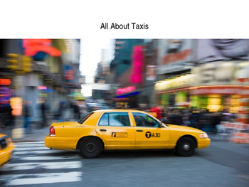 Taxis of New York- A History