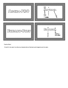 Taxonomic Domains, Prokaryote Vs. Eukaryote