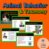 Taxonomy & Animal Behavior Power Point Lecture