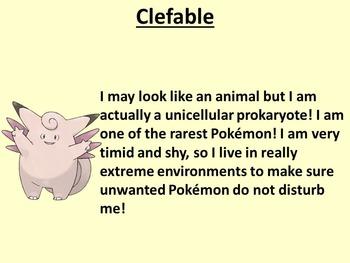 Pokemon Taxonomy