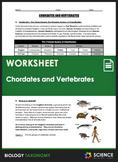 Taxonomy - Animals - Chordates and Vertebrates