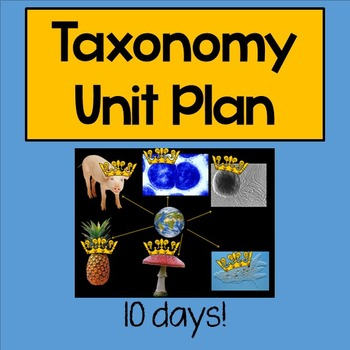 Taxonomy Unit Plan