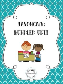 Taxonomy: Unit Plan