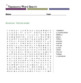 Taxonomy Word Search