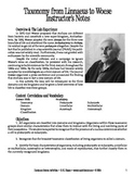 Taxonomy from Linnaeus to Woese (Ecology)