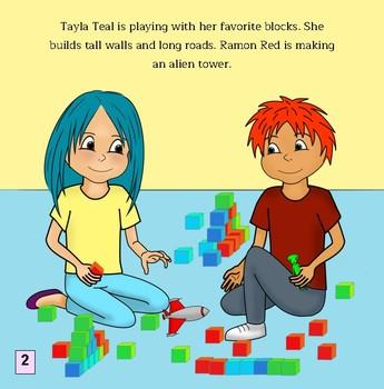 Tayla Teal Takes Turns