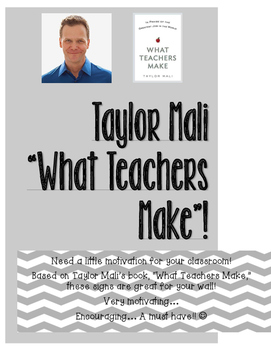 "Taylor Mali: ""What Teachers Make"""