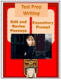 Taylor Swift: Edit/Revise and Expository Prompt