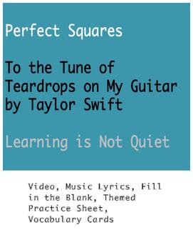Taylor Swift Math: Perfect Squares (Video, Lyrics, Notes,