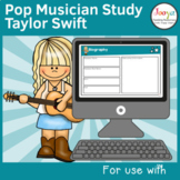 Taylor Swift Pop Musician Study
