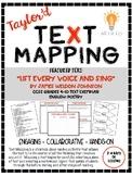 "Taylor'd Text Mapping ""Lift Every Voice and Sing"""