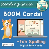Tch Spelling Rule BOOM Cards Distance Learning