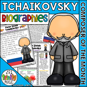 Tchaikovsky Biographies (Composer of the Month)