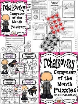 Tchaikovsky (Composer of the Month) BUNDLE