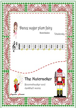 Nutcracker.Dance Of The Sugarplum Fairy-boomwhackers.Only accompaniment.