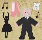 Tchaikovsky - Famous Composers Clip Art Set