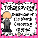 Tchaikovsky Listening Glyphs (Composer of the Month)