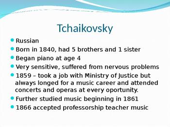Tchaikovsky Powerpoint