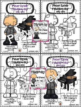 Tchaikovsky Puzzles (Composer of the Month)