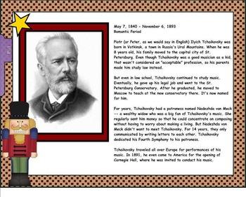 Tchaikovsky & The Nutcracker Suite: Intro. To Composer/Ballet (SMNTBK EDITION)