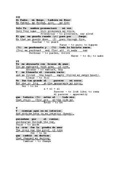 Te Busco (I Seek You) by Alex Zurdo. Spanish Song with English Translation