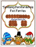 Ten-Penny Part-Part-Whole Fact Families