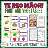 Te Reo Fruit and Vegetables Multi-purpose Flash Cards and