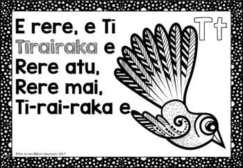 Te Reo Māori Alphabet Poems