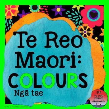 Te Reo Māori- Colours: Ngā tae