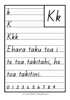 Te Reo Māori – Handwriting Copy Cards – Whakataukī (Proverbs)