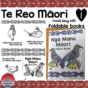 Te Reo Māori:Native Birds Foldable Book #1