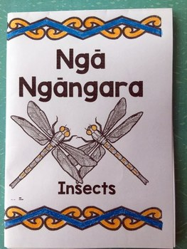 Te Reo Māori: New Zealand Insects Foldable Book #2