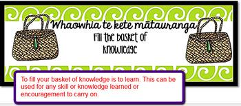 Te Reo Māori Praise Growth Mindset Slips