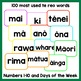 Te Reo Māori Sight Words BOOM Card Game