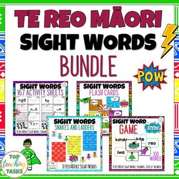 Te Reo Māori Sight Words BUNDLE