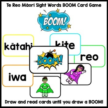 Te Reo Māori Sight Words BUNDLE