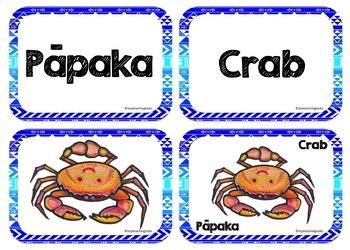 Te Reo Māori Under the Sea Multi-purpose Flash Cards