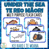 Te Reo Māori Under the Sea Multi-purpose Flash Cards