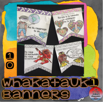Te Reo Māori: Whakataukī Banners