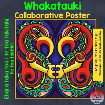 """Te Reo Māori: Whakataukī """"Collaboration"""" Poster"""