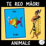Te Reo Māori  -  Animals