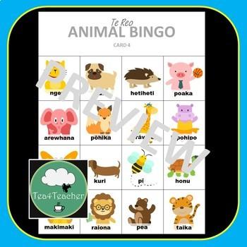 Te Reo Maori Bingo Games BUNDLE Kindy Primary Te Reo Maori Language New Zealand
