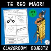 Te Reo Māori  -  Classroom Objects – Set A
