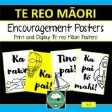 Te Reo Maori Classroom Encouragement Posters