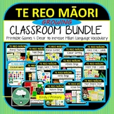 Te Reo Maori Classroom GROWING BUNDLE Kindy Primary Maori Language New Zealand