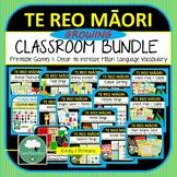 Te Reo Maori Classroom GROWING BUNDLE Maori Language New Zealand