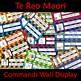 Te Reo Maori Commands New Zealand