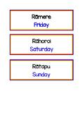 Te Reo Maori Days