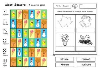 Te Reo Māori  -  Seasons